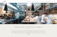 パリ15区レストランサイト制作・構築 - PILGRIM