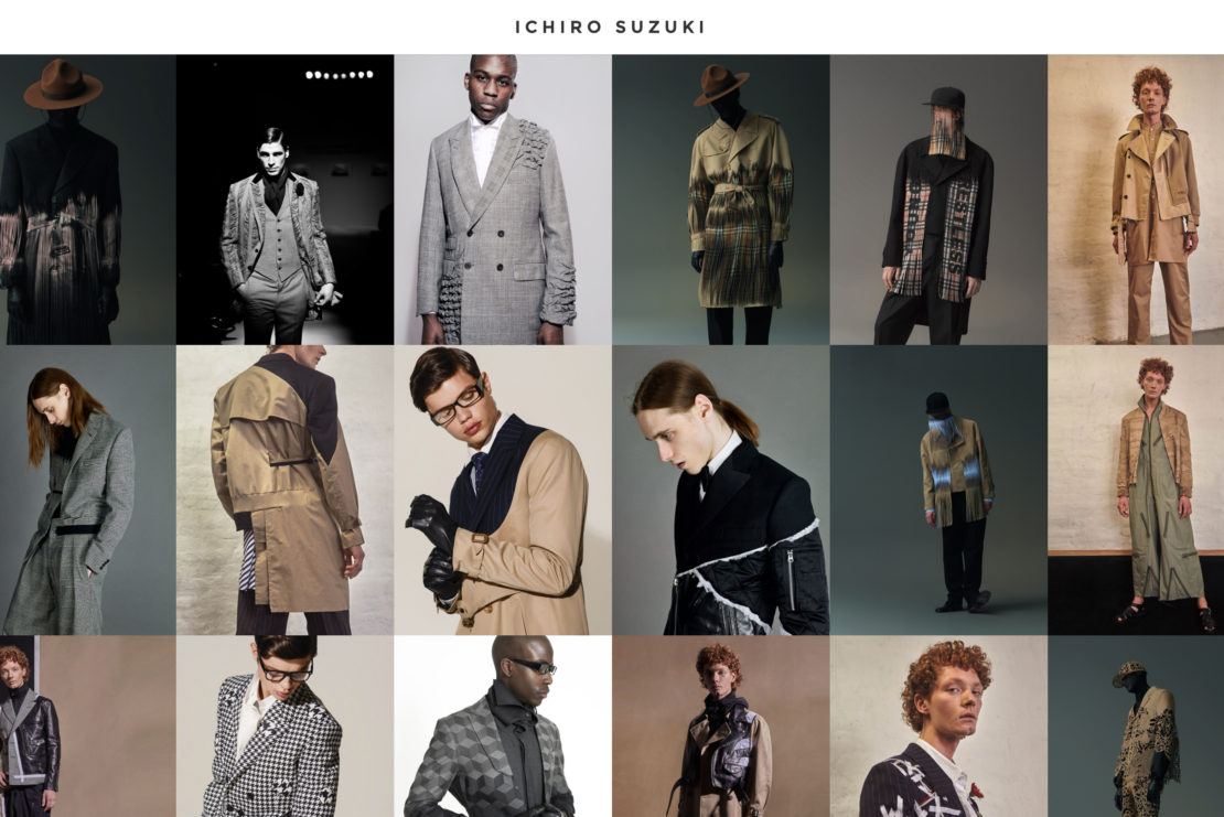 ファッション系ポートフォリオサイト制作・構築 - ICHIRO SUZUKI