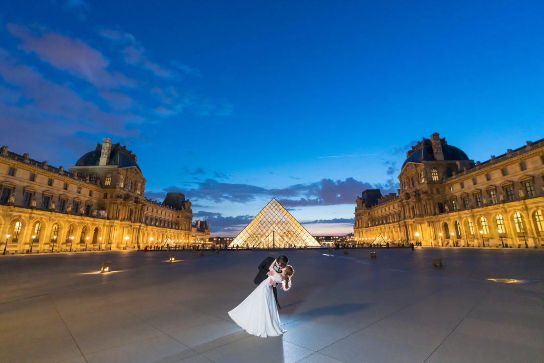 パリでナイトウェディングフォトが断然お勧めな7つの理由 - Studio Lazuli