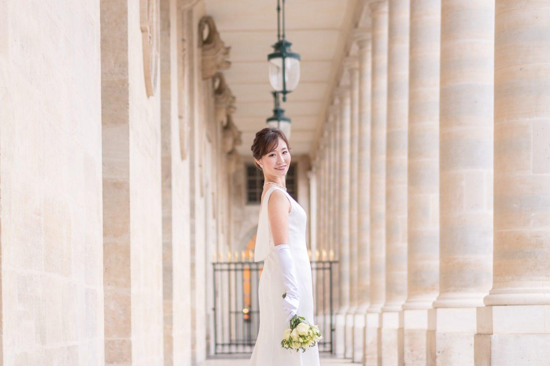 パリ中心地のウェディングフォトツアー撮影スポット⑤