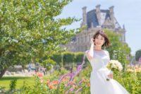 パリ中心地のウェディングフォトツアー撮影スポット