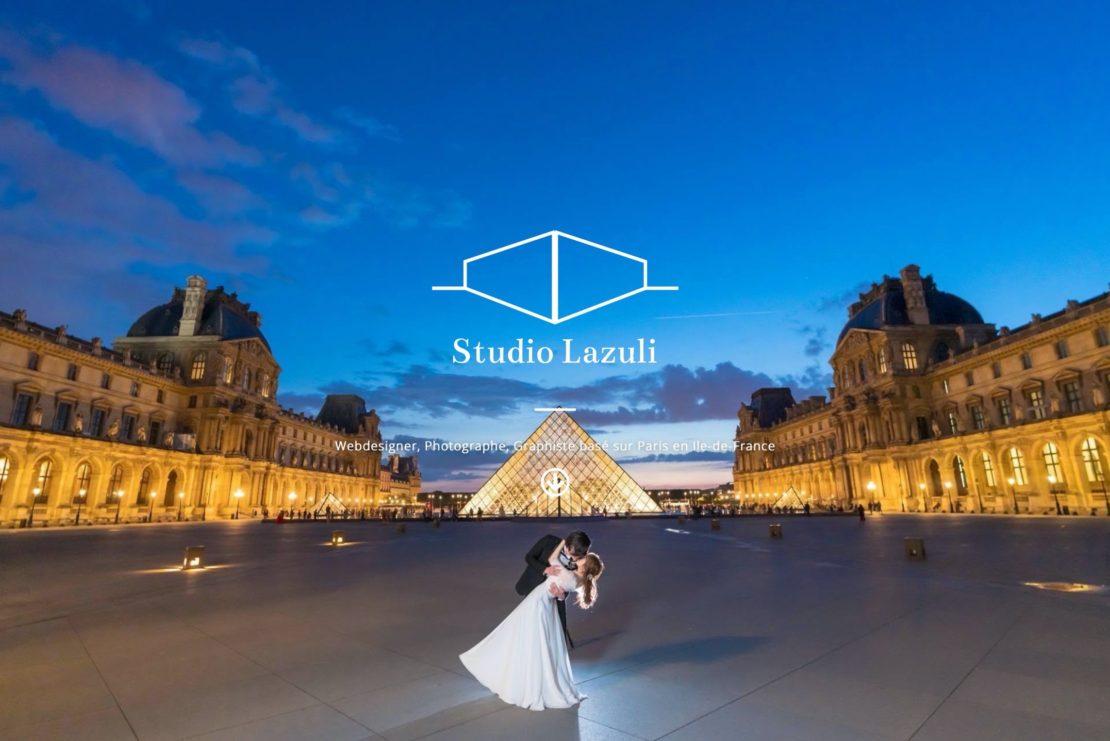 マルチクリエイター向けWebサイト制作・構築 – Studio Lazuli
